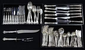 Gorham sterling silver Chantilly pattern flatware