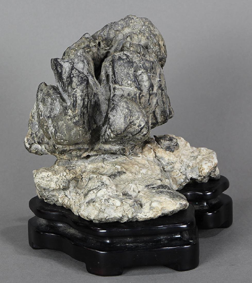 Chinese Two Colored Scholar's Rock
