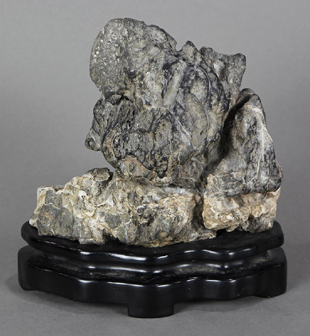 Chinese Two Colored Scholar's Rock - 3