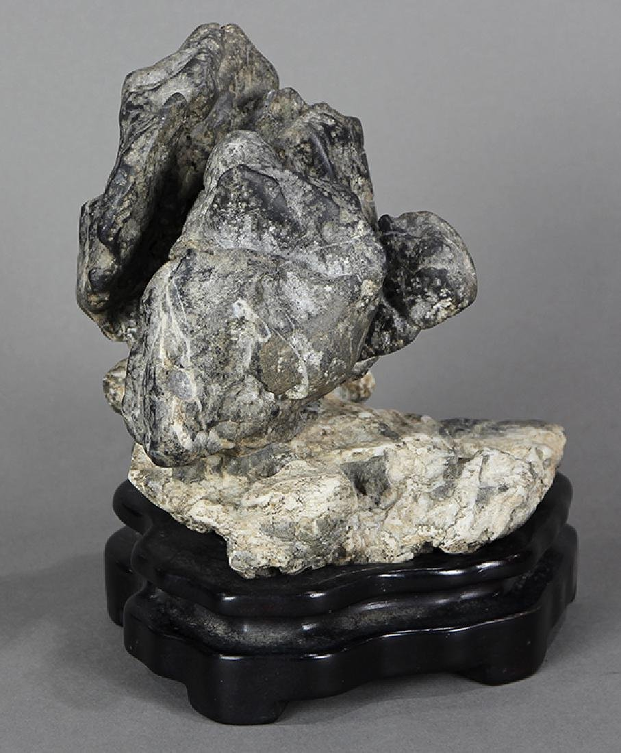 Chinese Two Colored Scholar's Rock - 4