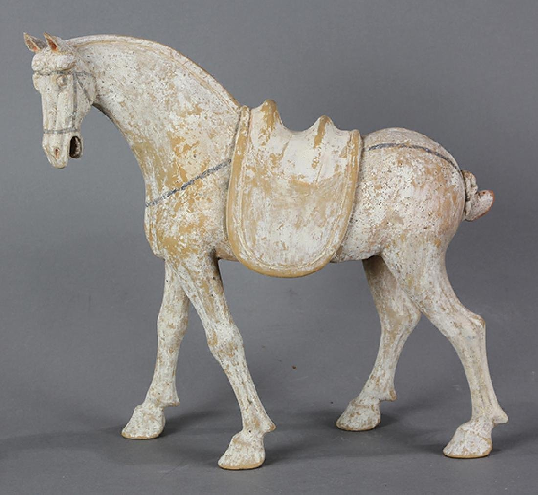 Chinese Tang-style Ceramic Horse