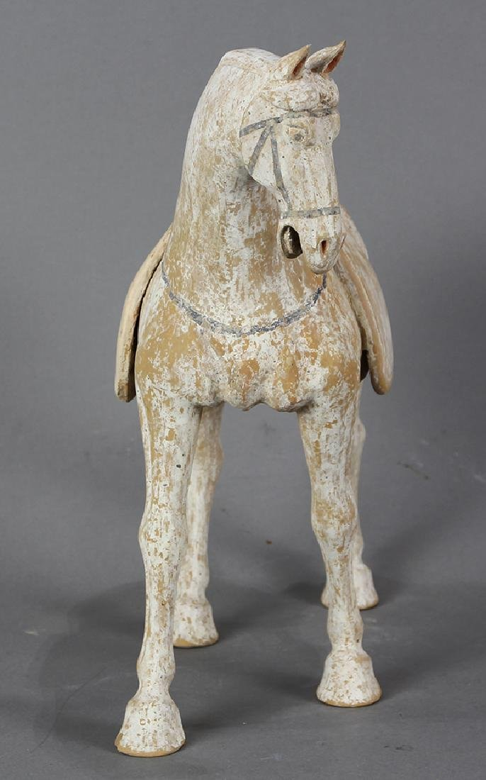 Chinese Tang-style Ceramic Horse - 2