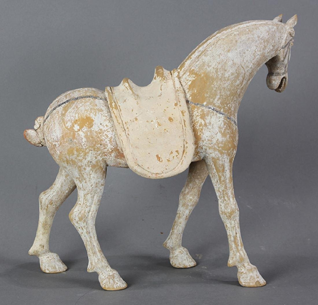 Chinese Tang-style Ceramic Horse - 3