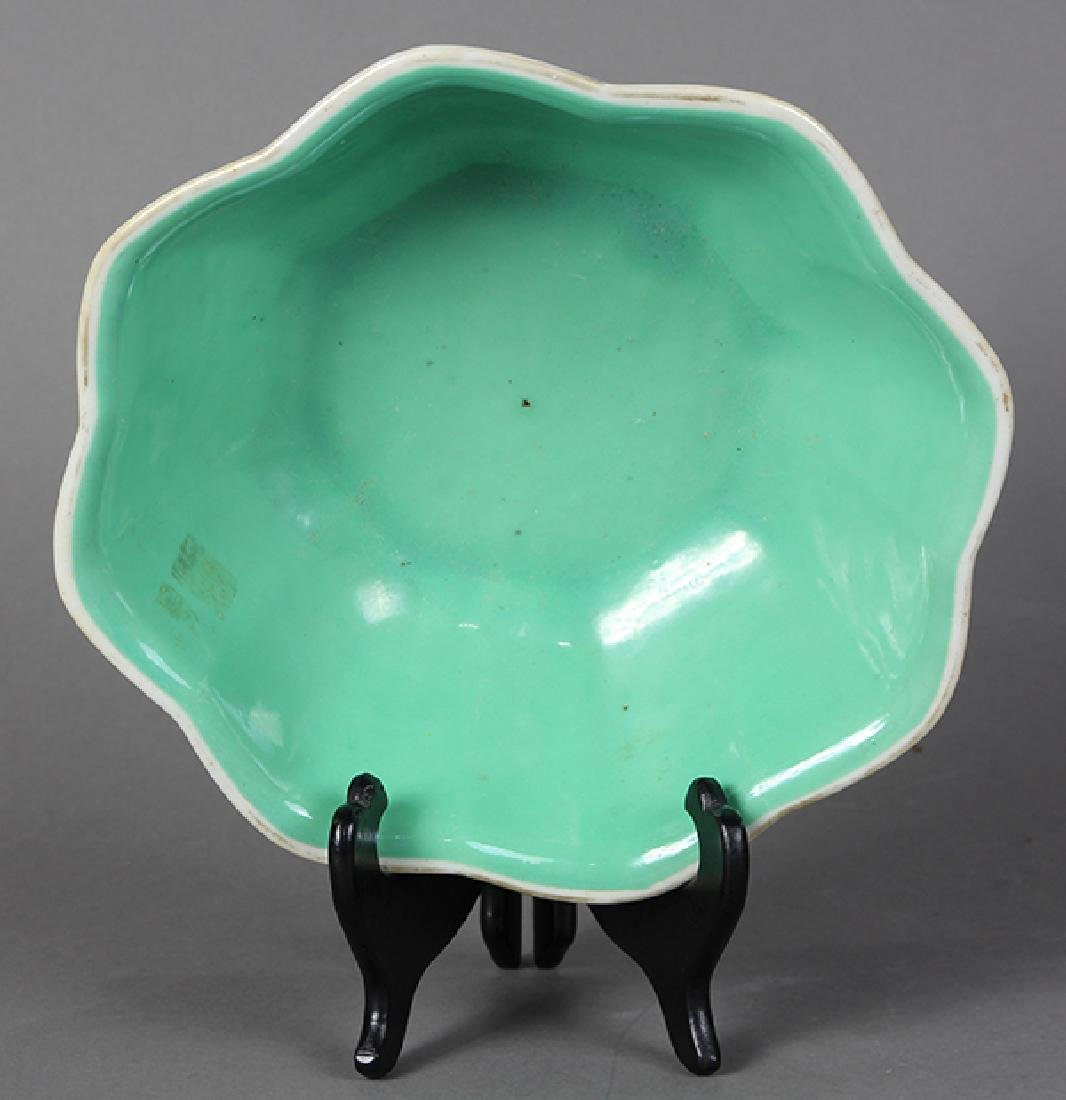 Chinese Footed Bowl, Phoenix-Dragons - 5