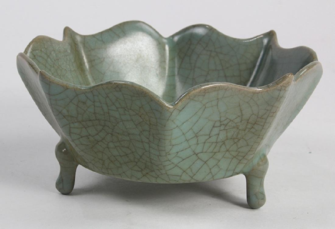 Chinese Guan-type Floral Form Brush Washer