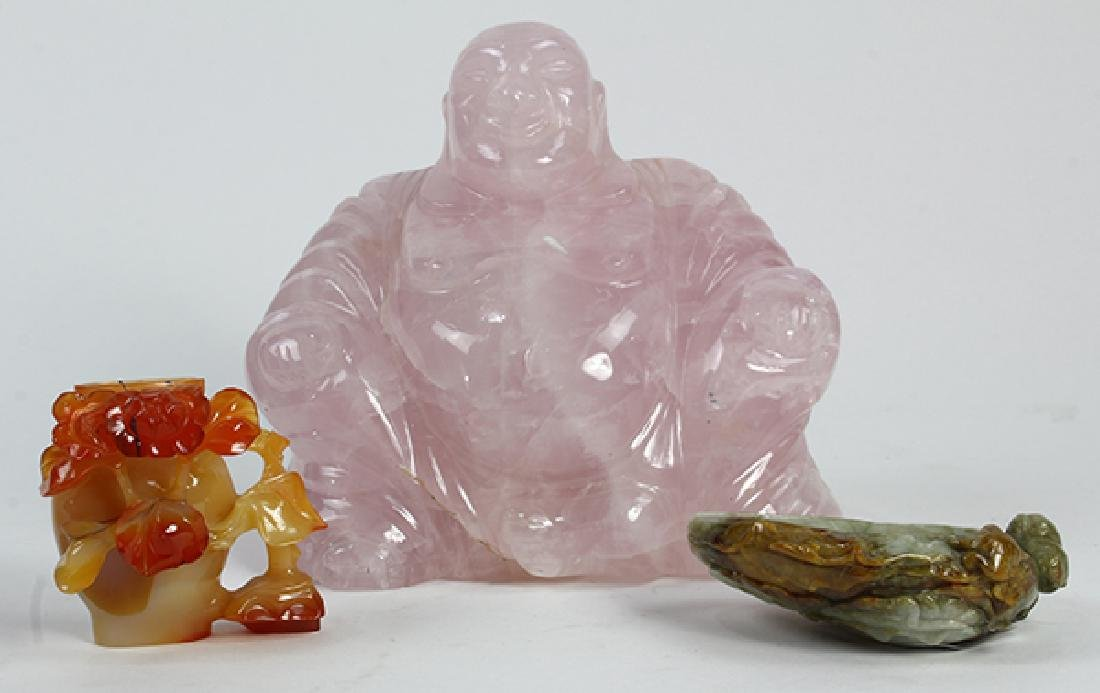 Three Chinese Stone Carvings