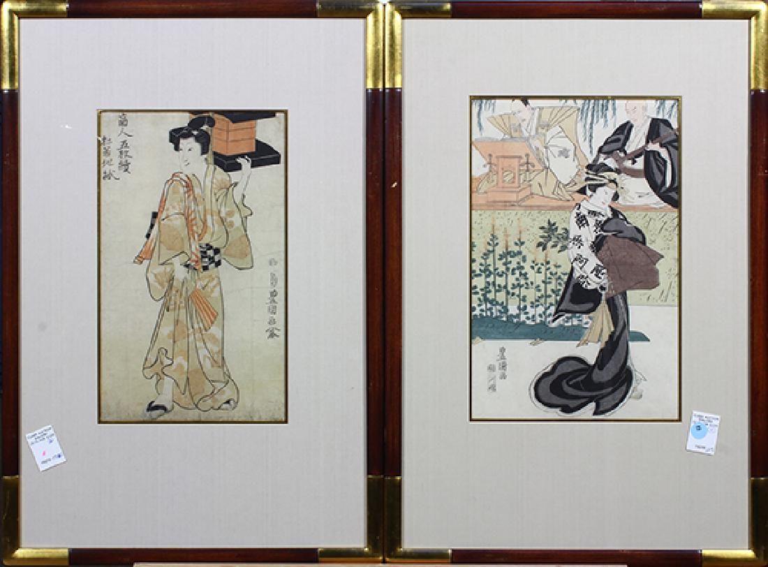 Japanese Woodblock Prints, Utagawa Toyokuni I , 19c