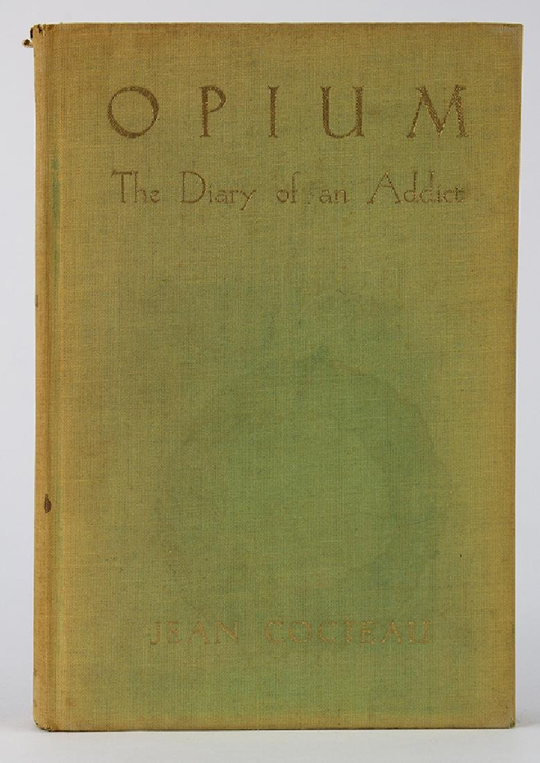 Cocteau, Jean. Opium: the Diary of an Addict