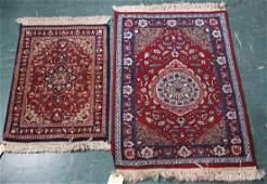 (lot of 6) Persian carpet group, consisting of (2)
