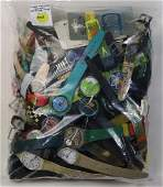 Collection of numerous Swatch and watch parts