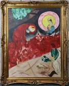 Painting After Marc Chagall