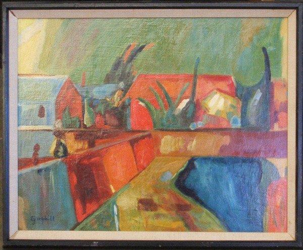 4002: Painting prison art John Graybill