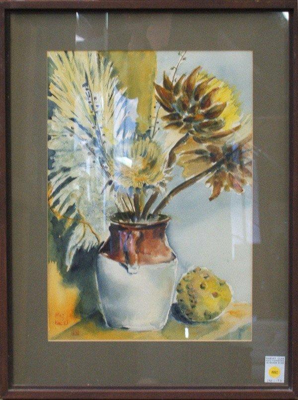 4007: Watercolor Still Life K.Y. Fong