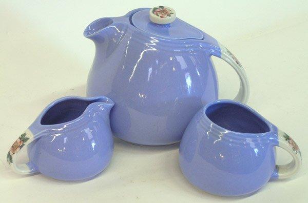 4021: Hall's Pottery tea set