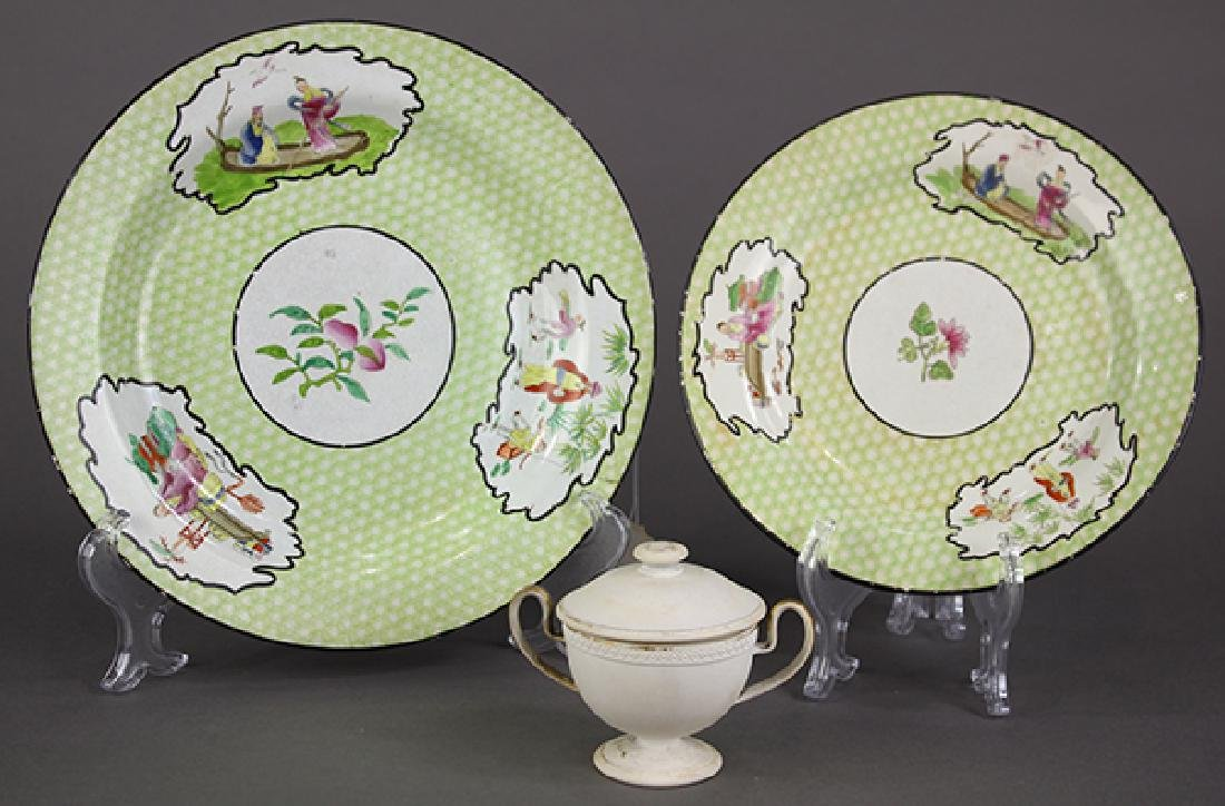 (lot of 3) Two Wedgwood and Co