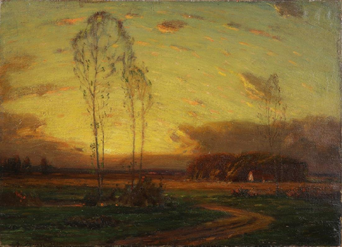 Painting, Attributed to George Inness