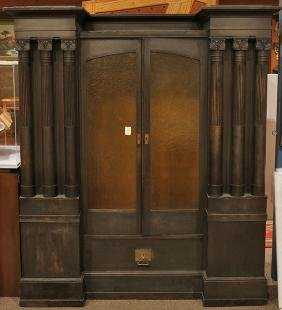 German Secessionist bookcase circa 1890 executed by