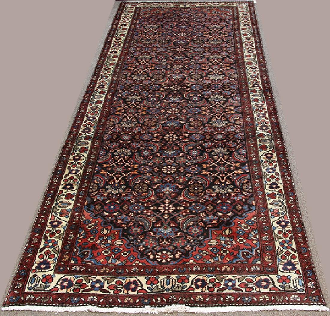 Semi Antique Persian Malayer carpet