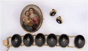 Collection of Victorian multistone and yellow gold