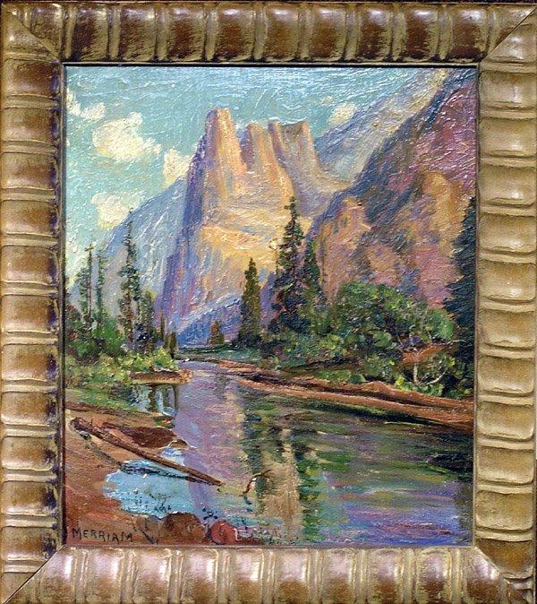 6012: Painting California Landscape Merriam