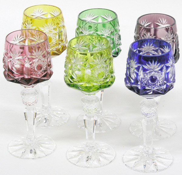 6019: Wheelcut cordial glass