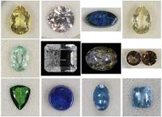 (Lot of 82) Unmounted multi-stones