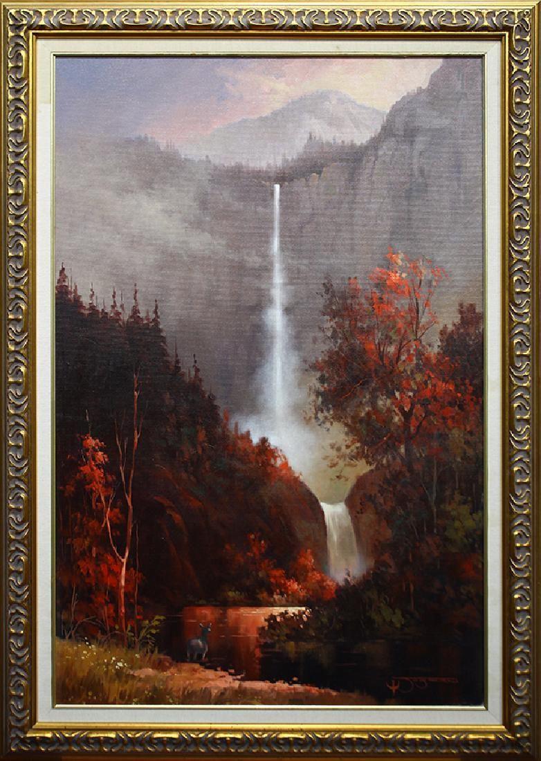 Jack Jordan, painting