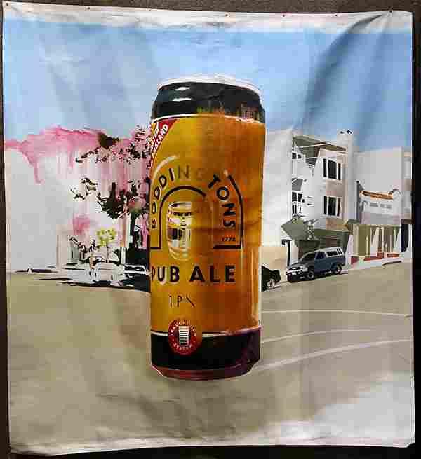Painting, Boddington's Pub Ale in San Francisco