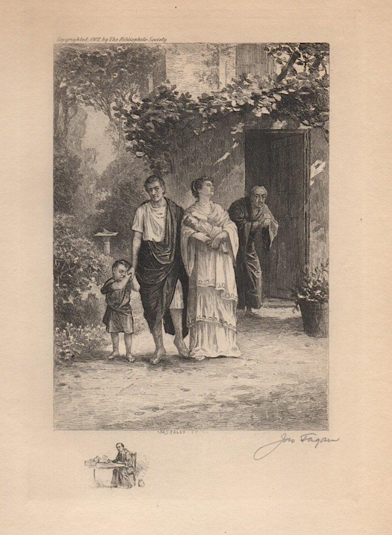 James Fagan [b. 1864) American Etching