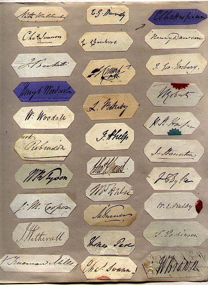 30 British Autographs