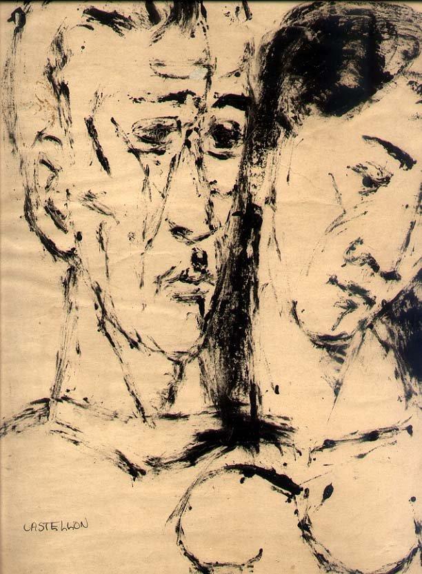 Federico Castellón (1914-1971) Drawing