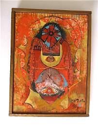 Isao Mizutani (1922-2005) Japanese artist