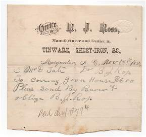 Samuel McDowell Tate - Confederate Colonel