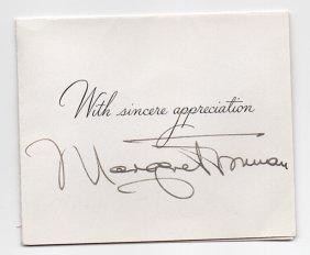 Margaret Truman (1924-2008)