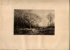 Henry Farrer (1844-1903) Etching