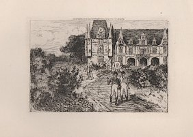 Charles Henry White (1878-1918) Etching
