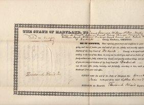 [maryland] Thomas Ward Veazey (1774-1842)