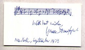Ignace Strasfogel (1909-1994) Polish-born Composer And