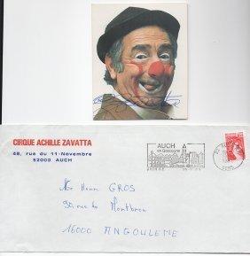 [famous Clown] Achille Zavatta (1915-1993)