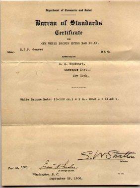 First Director Of Bureau Of Standards