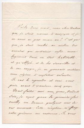Lizinska De Mirbel (1796-1849) French Artist