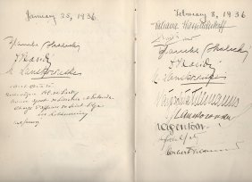 Social Register Of The Minister To Norway