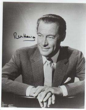 Rex Harrison (1908-1990) English Actor