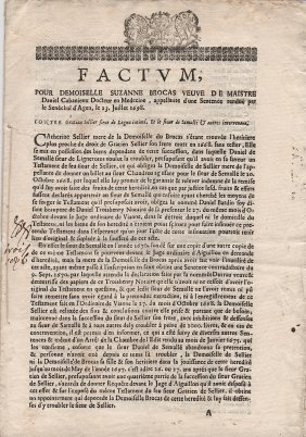 1698 French Document