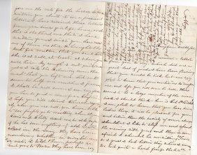 Letter To Nathan F. Blunt, Civil War Surgeon