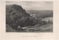 East Rock New Haven Ct 1873 View