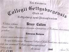 Doctor's Degree From Gettysburg College