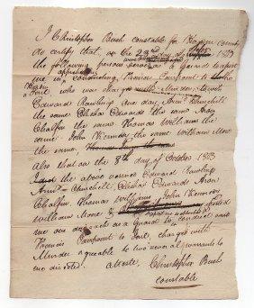 1803 Murder In Pioneer Kentucky