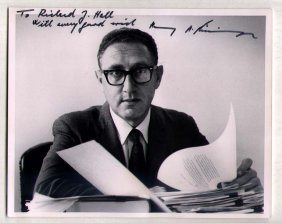 Henry Kissinger Photo By Alfred Eisenstaedt