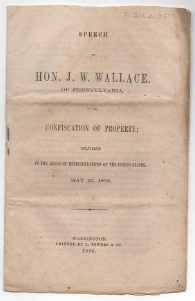 Speech Of Hon. J.w. Wallace, Of Pennsylvania
